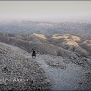 Descending Mount Nemrut