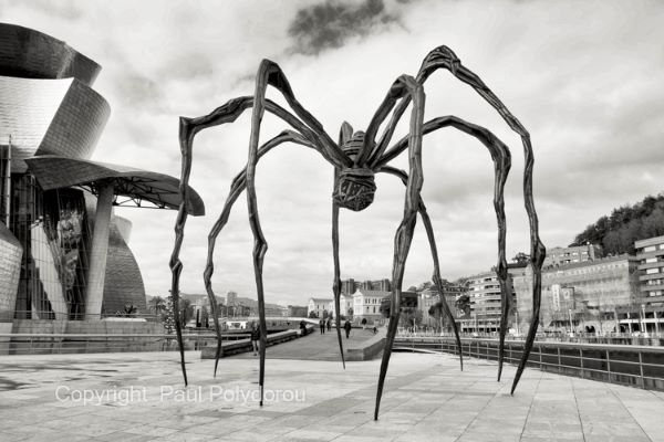 Louise Bourgeois Spider sculpture, Bilbao