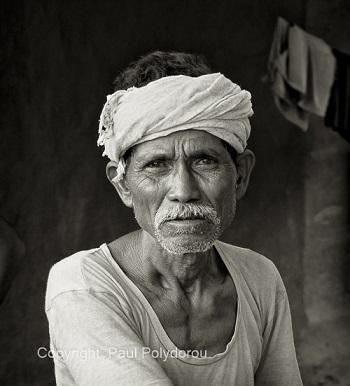Maria-Gondh tribal village man
