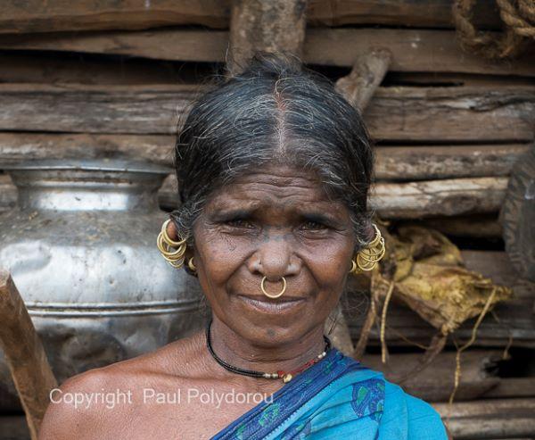 Bada Paraja Village Woman