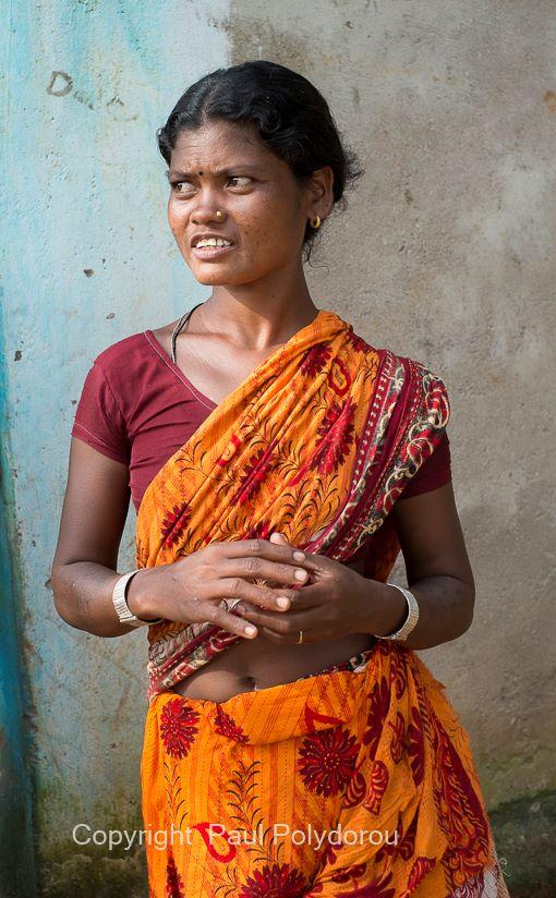 Khond Tribal Village Woman