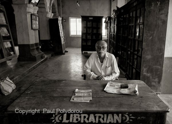 Librarian in Puri
