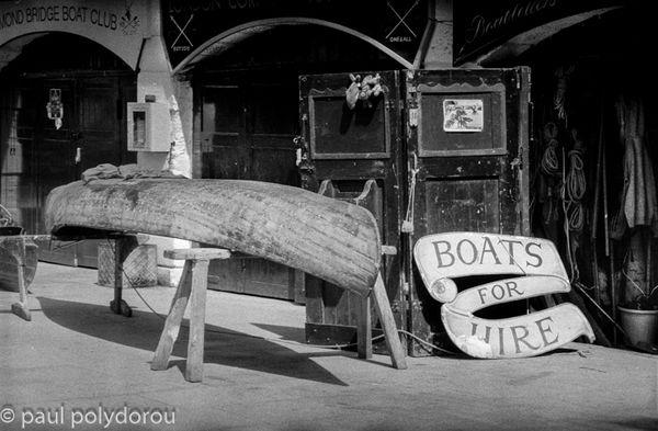 Boat yard at Richmond