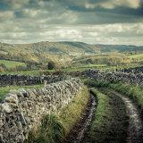 dry stone track