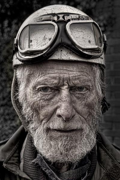 Vintage Motorcyclist