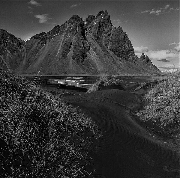 Black dunes of Stokksnes