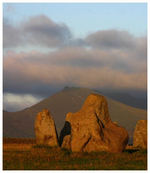 Dawn Castlerigg Stone Circle