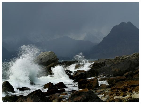 Waves At Elgol