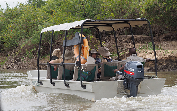 Our transport from the airstrip to Selous Impala camp