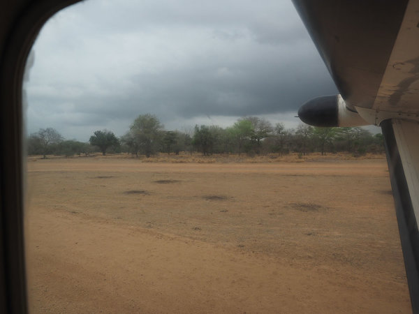 Leaving Selous for Mwagsusi