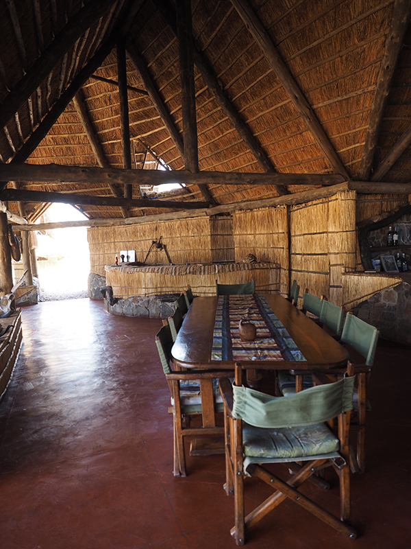 Restaurant at Mwagusi