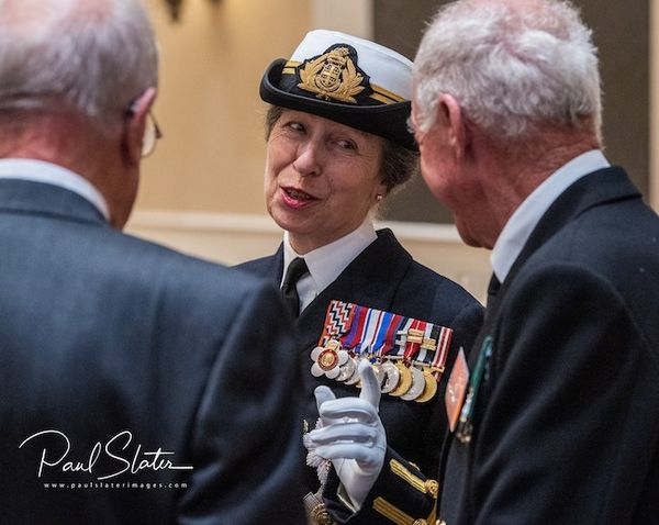 Princess Anne Visits Plymouth To Unveil Monument On Merchant Navy Day 2019
