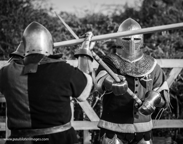 Full contact medieval combat