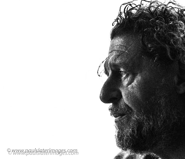 Portrait of celebrity chef Marco Pierre White during a visit to his restaurant in Plymouth.
