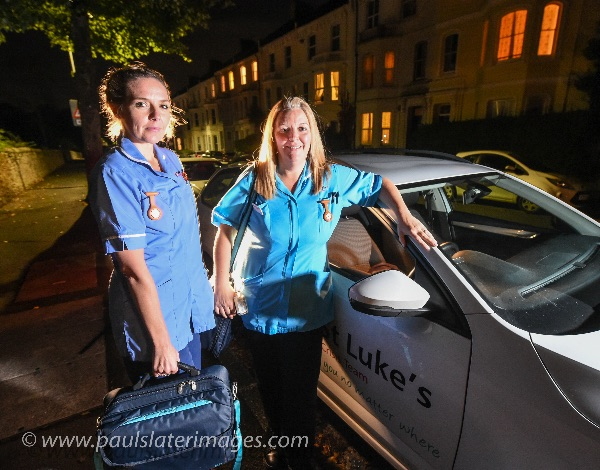 Crisis Care Team for St Lukes Hospice, Plymouth, Devon