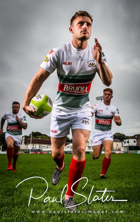 Plymouth Albion RFC and thier new home kit for the new season.