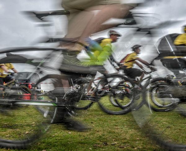 St Luke's Hospice Tour de Moor event across Dartmoor.
