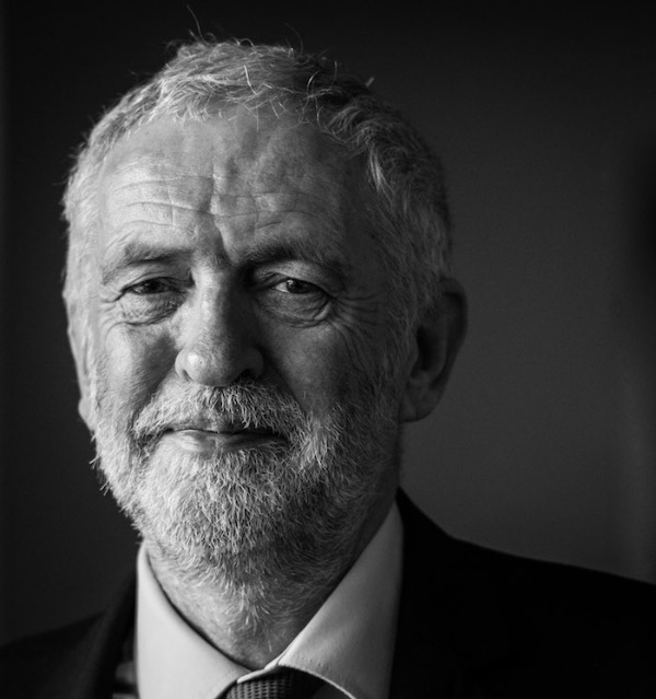 Labour Leader Jeremy Corbyn pictured during a recent visit to Plymouth.