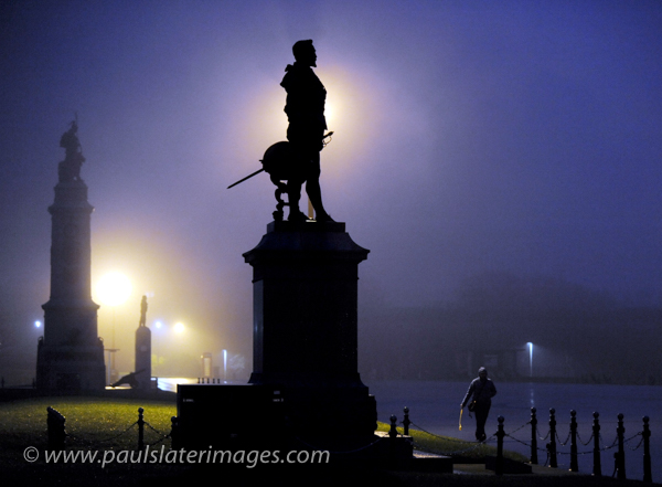 Sir Francis Drake Statue on Plymouth Hoe, Devon.