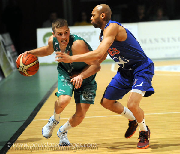 Plymouth Raiders Basketball action