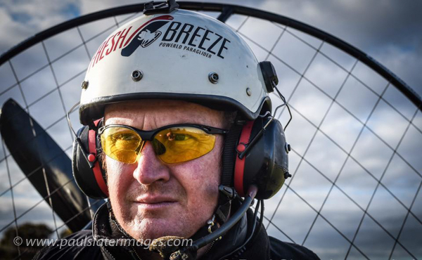 Paraglider Pilot and Photographer Dan Burton Portrait