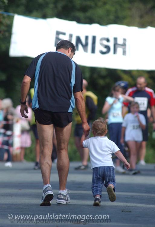 Mini family marathon event, Plymouth