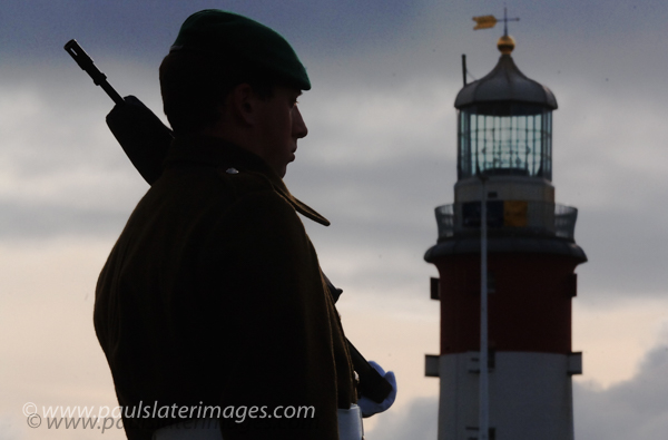 Remembrance Service, Plymouth Hoe, Devon.