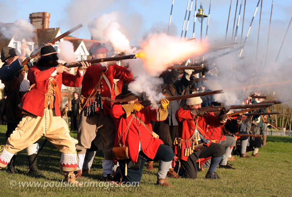 Sealed Knot reenactment, Freedom Fields, Plymouth.