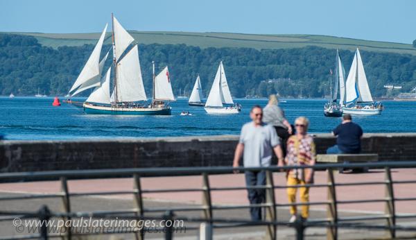 Classic Yacht Race, Plymouth Sound, Devon