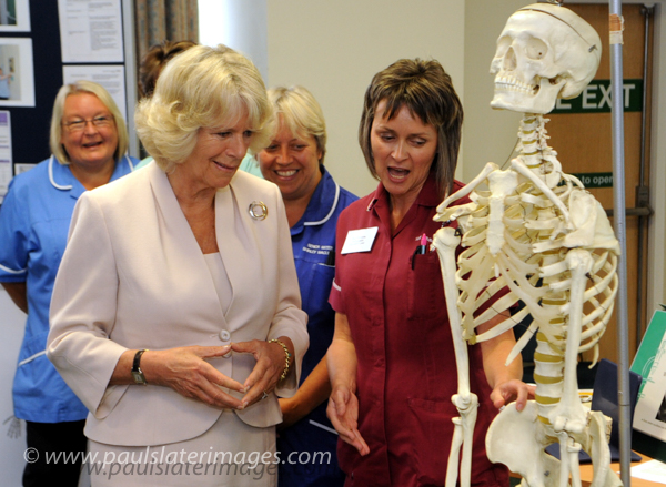 HRH Duchess of Cornwall pictured during a visit to Plymouth.