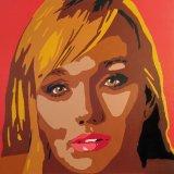 GRACE Acrylic on canvas 100X100cm £1,450