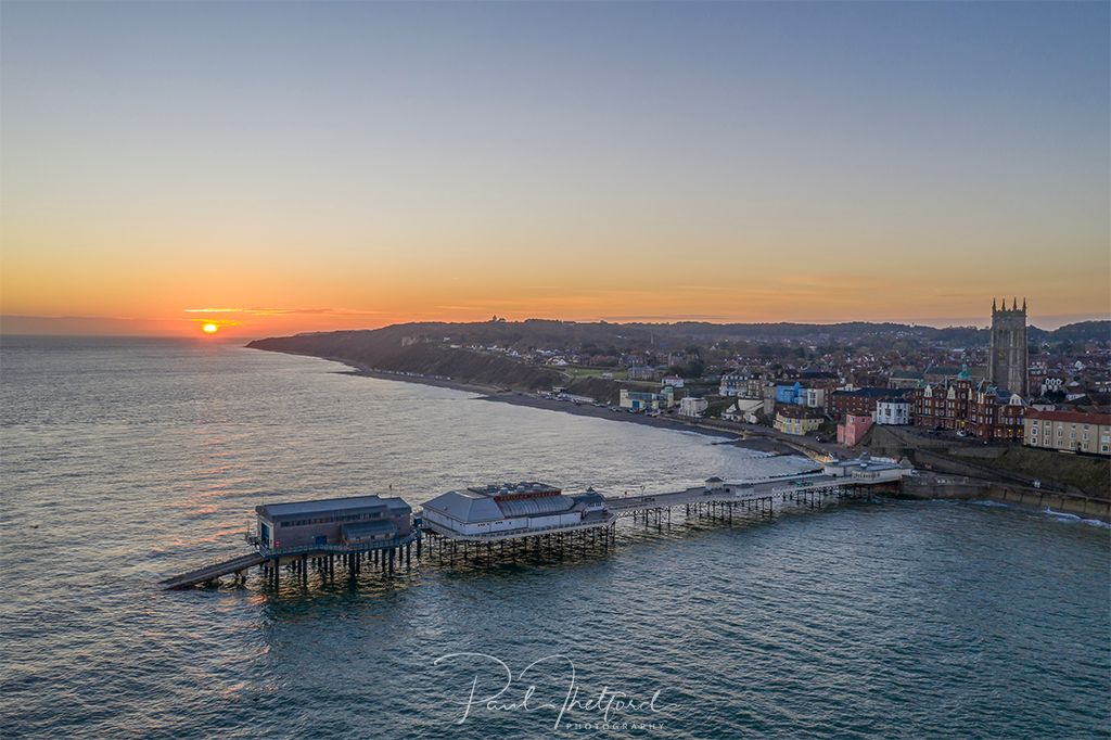 Dawn over Cromer