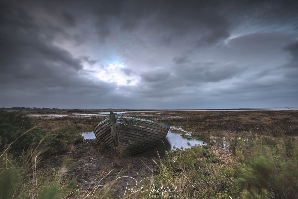 Old boat Blakeney Freshes