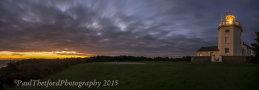 Dawn Cromer Lighthouse Panorama