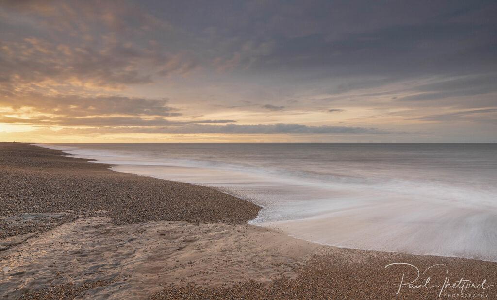 Last light Norfolk coast 2