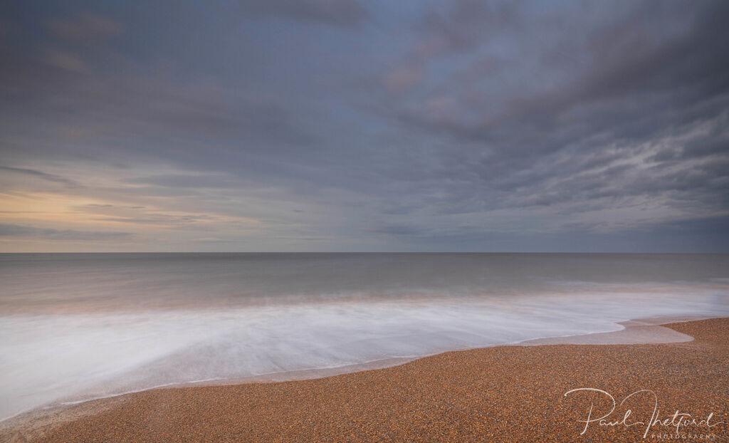 Last light Norfolk coast 3