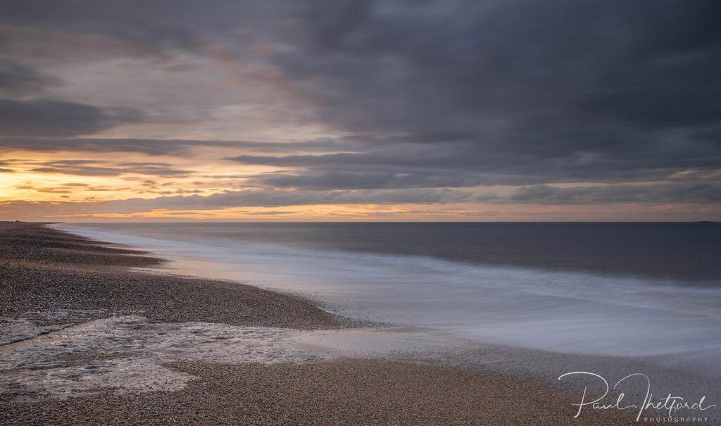 Last light Norfolk coast 4