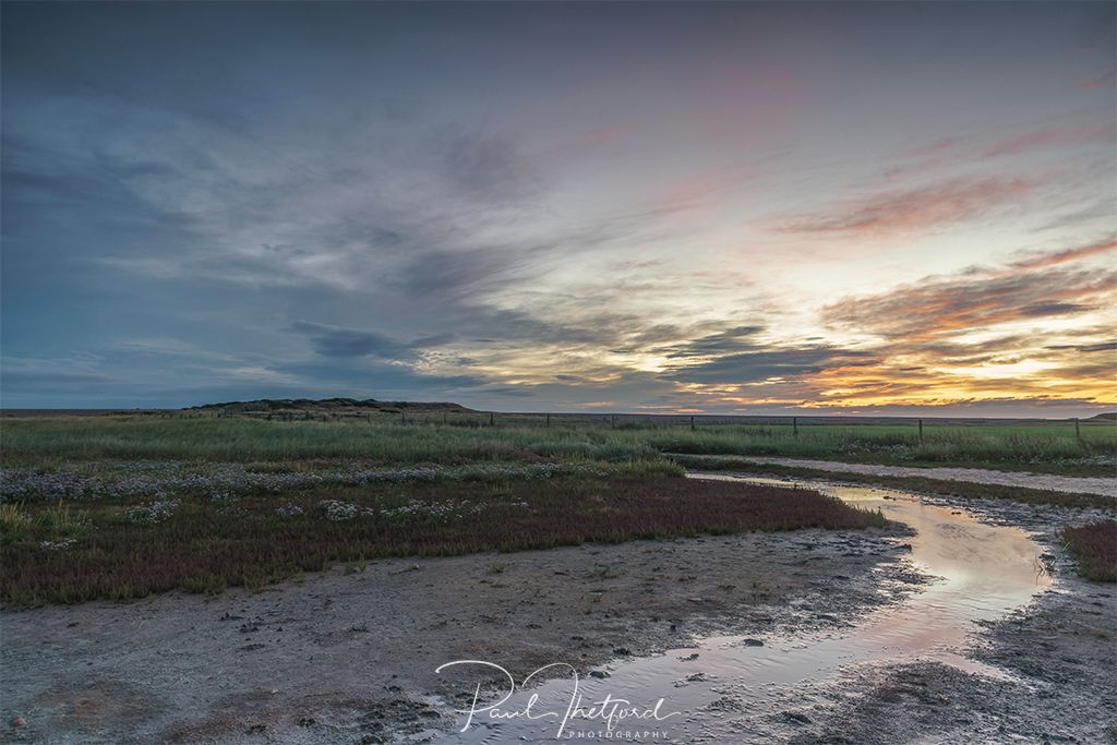 Salthouse Marsh, First light 2