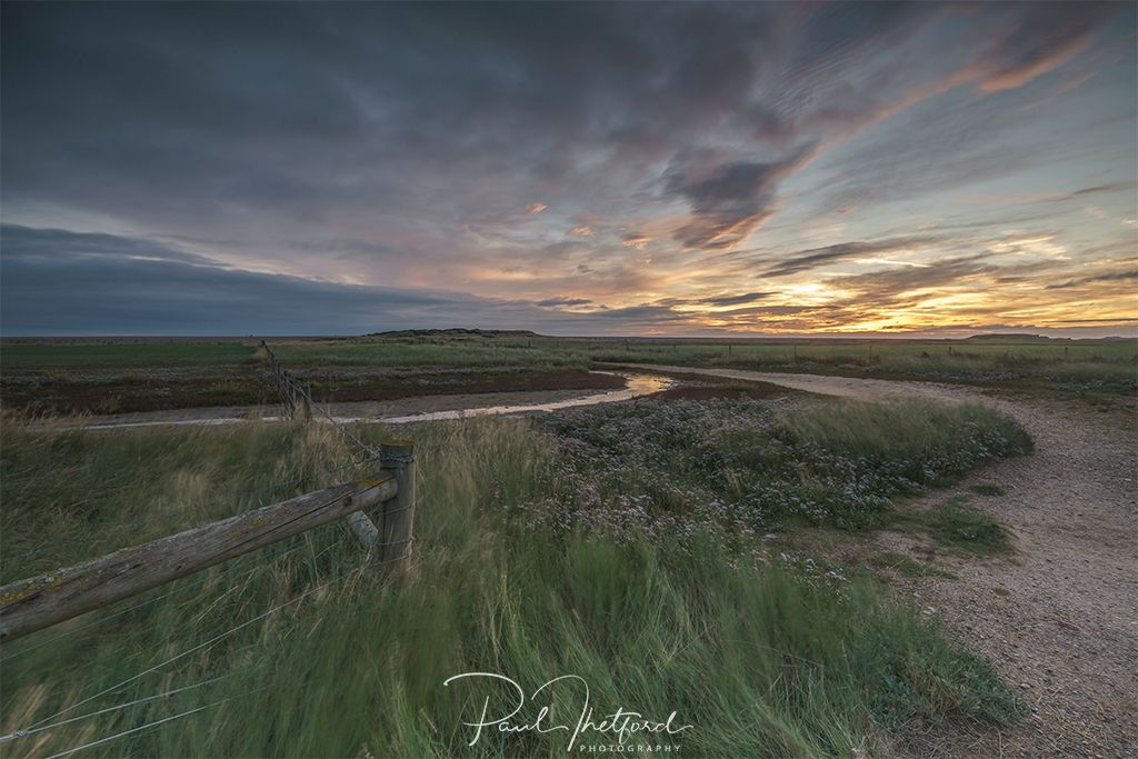 Salthouse Marsh, First light 4
