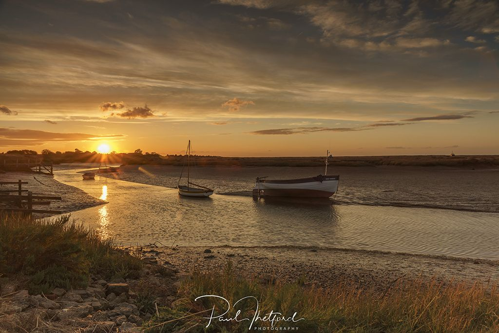 Stiffkey Late summer's evening 3