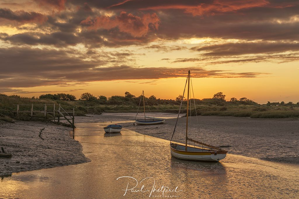 Stiffkey Late summer's evening 4