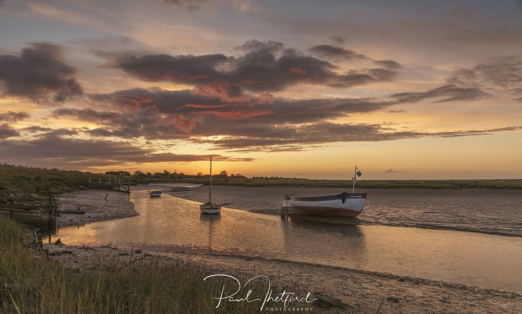 Stiffkey Late summer's evening 5