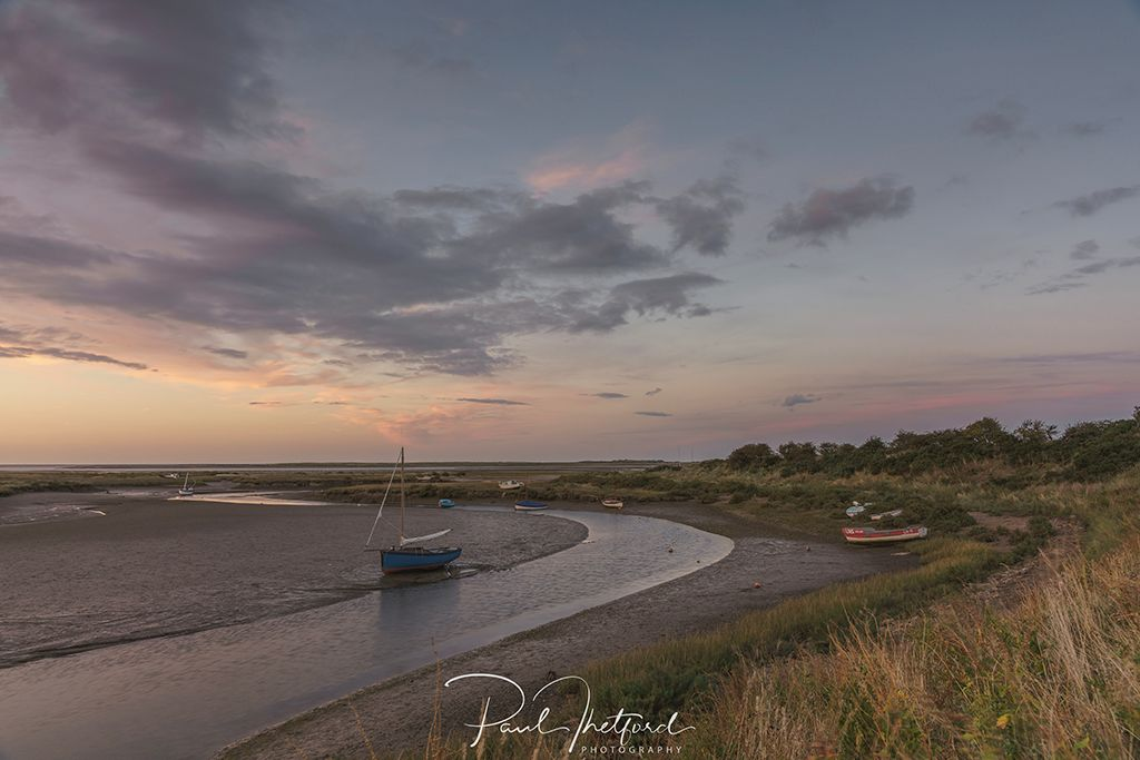 Stiffkey Late summer's evening