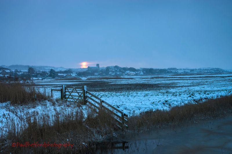 Norfolk Winter (Salthouse)