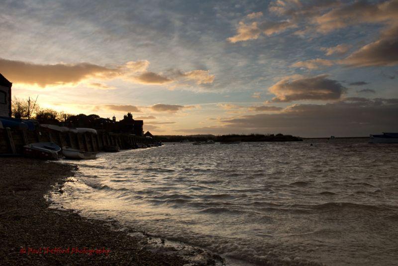 High Tide Burnham Overy Staithe