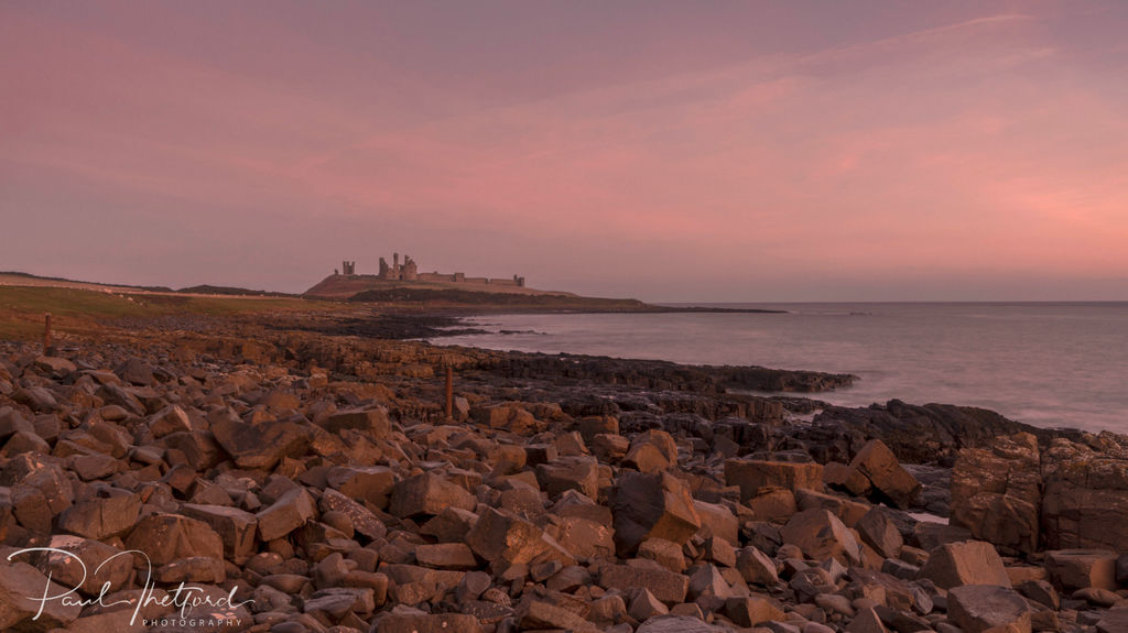 Dunstanburgh Castle Dawn