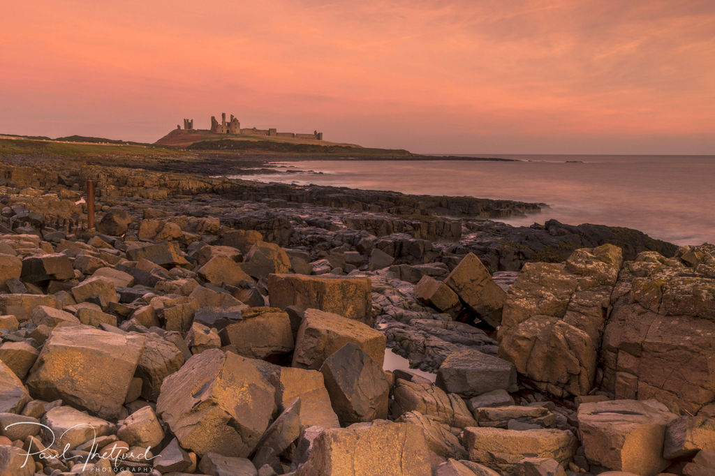 Dunstanburgh Castle Dawn 2