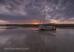 Evening Light, Burnham Overy Staithe