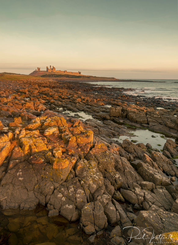 Dunstanburgh Castle Dawn 3
