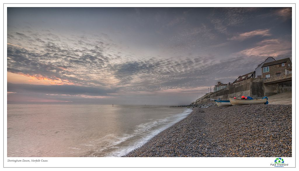 Sheringham, Summer dawn. 3